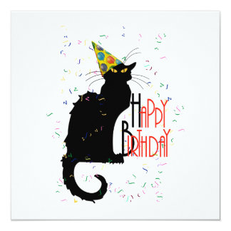 Le Chat Noir - HAPPY BIRTHDAY! Card