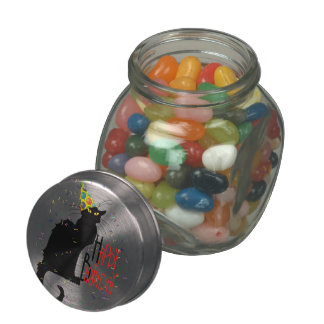 Le Chat Noir - HAPPY BIRTHDAY! Jelly Belly Candy Jar