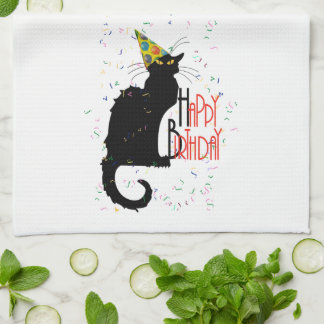 Le Chat Noir - HAPPY BIRTHDAY! Kitchen Towel