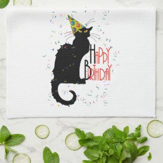 Le Chat Noir - HAPPY BIRTHDAY! Kitchen Towels