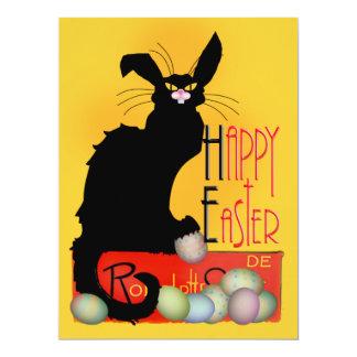 Le Chat Noir - Happy Easter Card