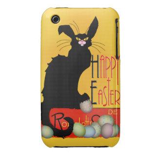 Le Chat Noir - Happy Easter Case-Mate iPhone 3 Case