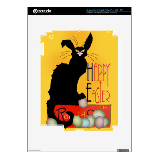 Le Chat Noir - Happy Easter Skins For iPad 3