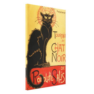 Le Chat Noir Impresión En Lienzo Estirada