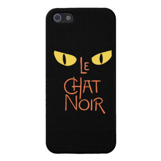 Le Chat Noir in the Dark Case For iPhone SE/5/5s