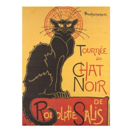 Le Chat Noir Invitación