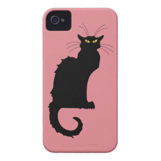 Le Chat Noir iPhone 4 Cover