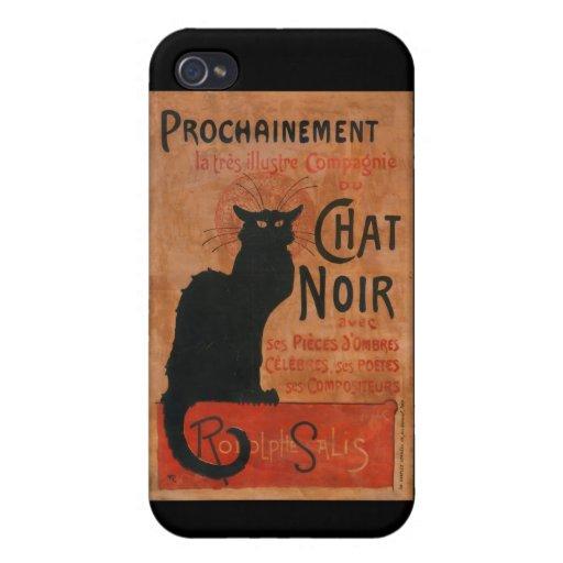Le Chat Noir iPhone Case iPhone 4/4S Case