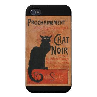 Le Chat Noir iPhone Case iPhone 4/4S Covers