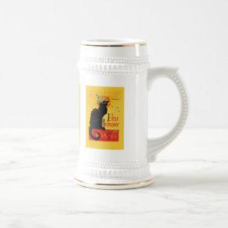 Le Chat Noir - Joyeux Anniversaire Beer Stein