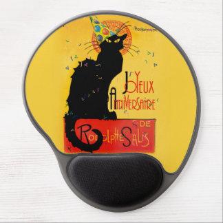 Le Chat Noir - Joyeux Anniversaire Gel Mouse Pad