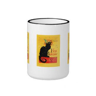 Le Chat Noir - Joyeux Anniversaire Mugs