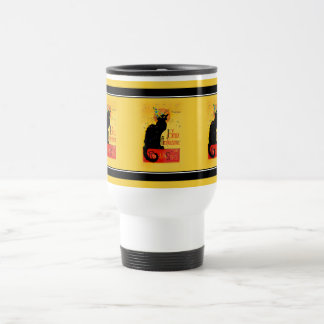 Le Chat Noir - Joyeux Anniversaire Coffee Mugs