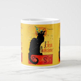 Le Chat Noir - Joyeux Anniversaire Jumbo Mugs