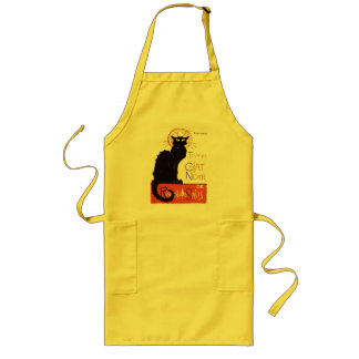 Le Chat Noir Long Apron