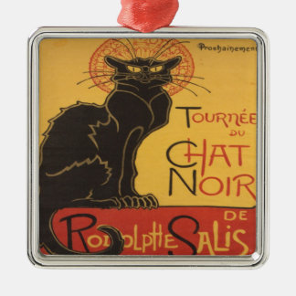 Le Chat Noir Metal Ornament