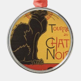 Le Chat Noir Metal Ornament