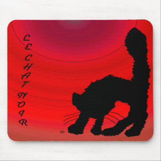 Le Chat Noir Mousepads
