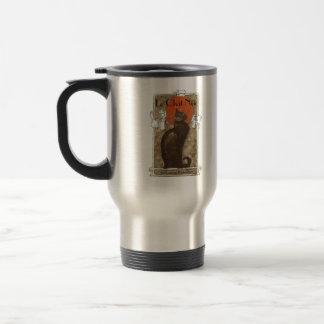 Le Chat Noir 15 Oz Stainless Steel Travel Mug
