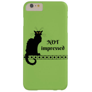 Le Chat Noir Not Impressed Barely There iPhone 6 Plus Case
