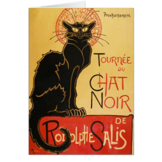 Le Chat Noir Note Card