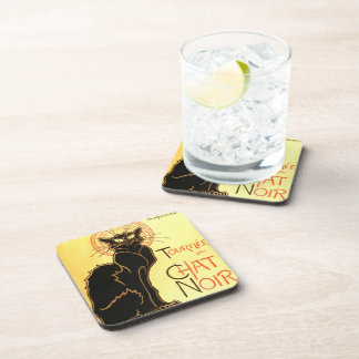 Le chat noir,Original billboard Coaster