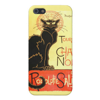 Le chat noir,Original billboard Cover For iPhone SE/5/5s