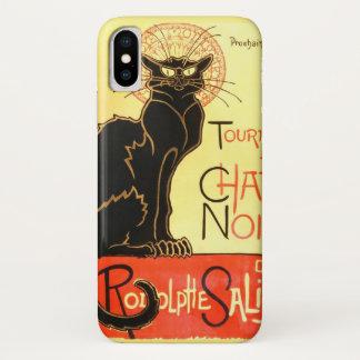Le chat noir,Original billboard iPhone X Case