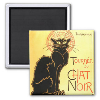 Le chat noir,Original billboard Magnet