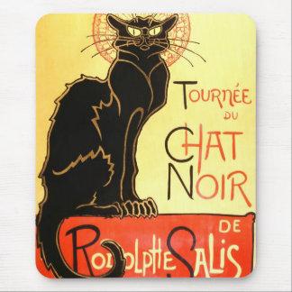 Le chat noir,Original billboard Mouse Pads