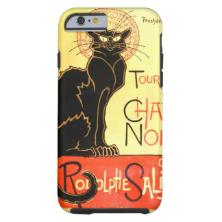 Le chat noir,Original billboard Tough iPhone 6 Case