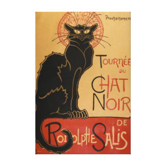 Le Chat Noir Original Canvas Print