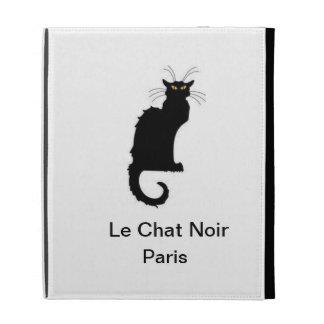 Le Chat Noir Paris iPad Wrap-around Cover iPad Folio Cover