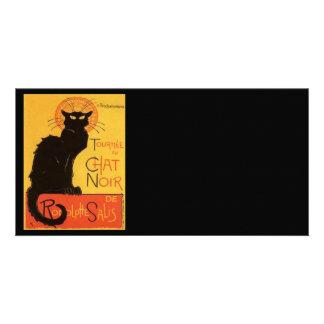 Le Chat Noir Custom Photo Card