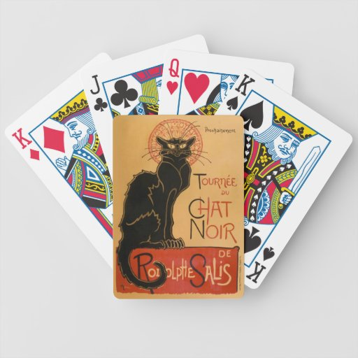 Le Chat Noir Playing Cards