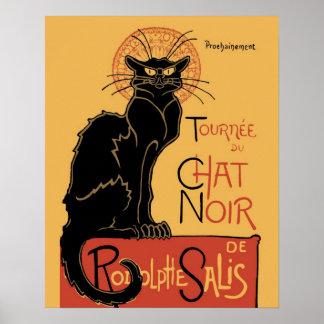 Le Chat Noir por Steinlen Posters