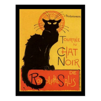 Le Chat Noir Postales