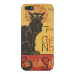 LE CHAT NOIR PRINT COVER FOR iPhone 5