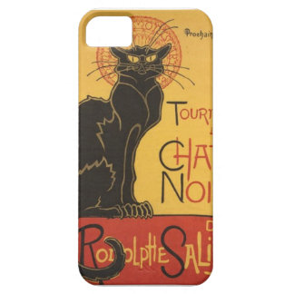 LE CHAT NOIR PRINT iPhone SE/5/5s CASE