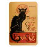 Le Chat Noir Rectangular Magnets