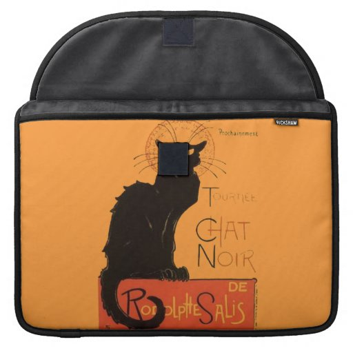 Le Chat Noir Sleeves For MacBook Pro