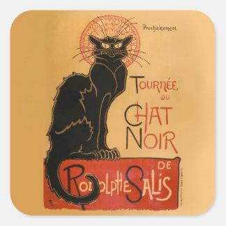 Le Chat Noir Square Sticker