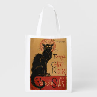 Le chat Noir - Steinlen Grocery Bag