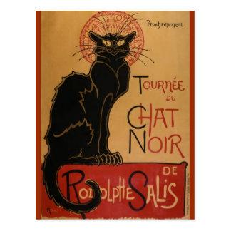 Le chat Noir - Steinlen Postcard