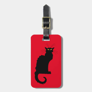 Le Chat Noir Tag For Luggage