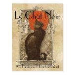 Le Chat Noir Tarjeta Postal