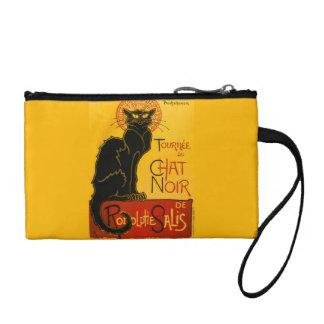 Le Chat Noir The Black Cat Art Nouveau Vintage Change Purses