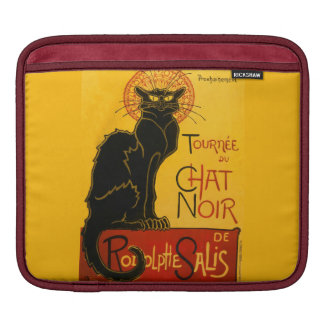 Le Chat Noir The Black Cat Art Nouveau Vintage iPad Sleeve