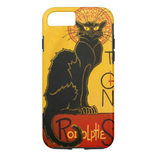 Le Chat Noir The Black Cat Art Nouveau Vintage iPhone 8/7 Case