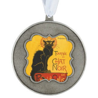 Le Chat Noir The Black Cat Art Nouveau Vintage Ornament